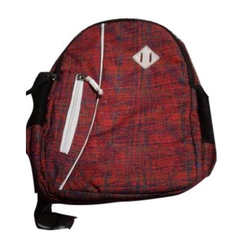 Zipper Closure Polyester School Bag