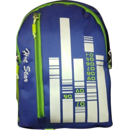 Zipper Closure Printed Backpack