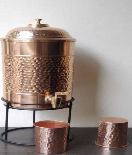 100% Pure Copper Matka for Home