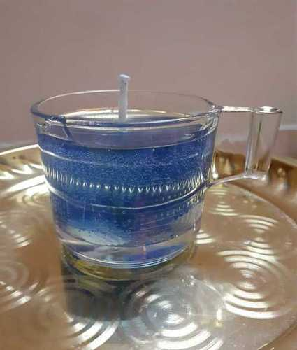 Aromatic Glass Gel Candles