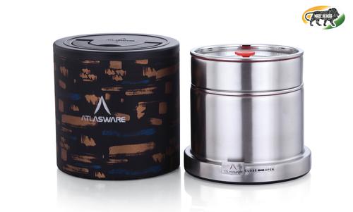 Atlasware Stainless Steel Insulated Tiffin Box 475ml