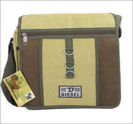 Cotton One Side Sling Bags