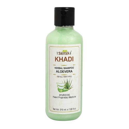 Srotam Khadi Aloevera Shampoo