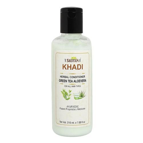 Srotam Khadi Green Tea Aloevera Conditioner