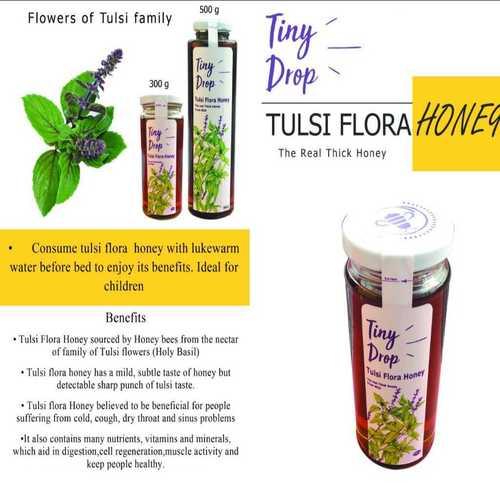 Tulsi Flora Tiny Drop Honey (The Real Thick Honey), 300g, 500g