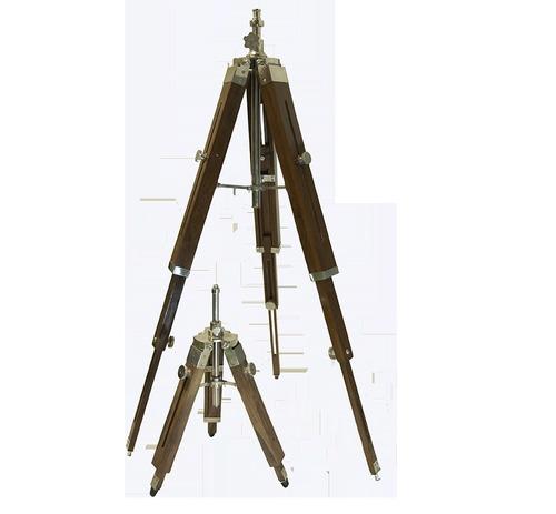 Wood Tripod Lamp Stand