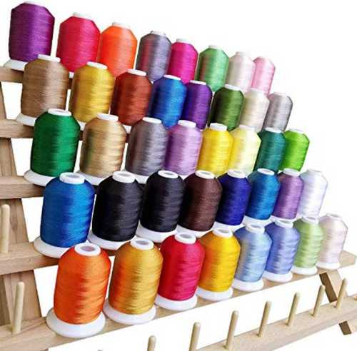 100% Cotton Multi Color Embroidery Threads