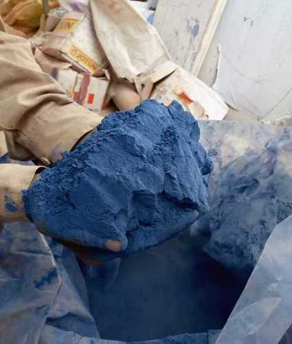 Blue Powder Coating Powder