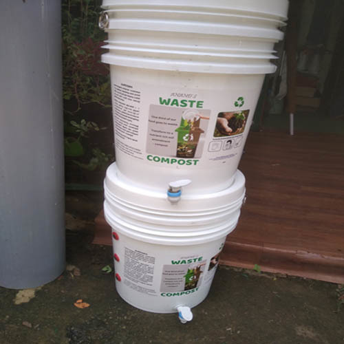 Double Chambered Compost Bin