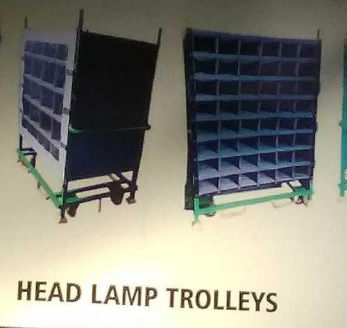 Easily Cleaned Head Lamp Trolley