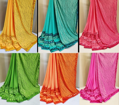 Fab Jersey Silk Saree