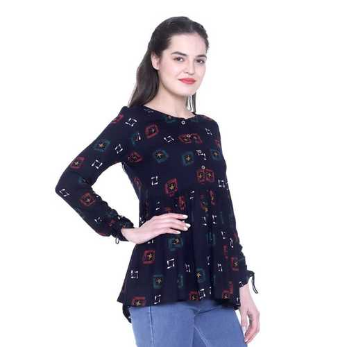 Girls Fancy Cotton Top