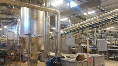 Industrial Dedusting Plant