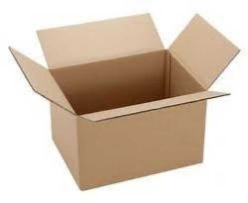 Plain Brown Corrugated Packaging Boxes