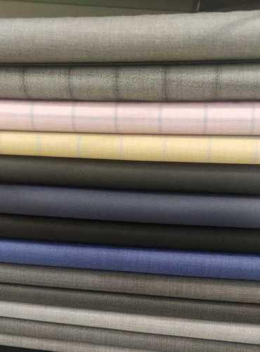 Plain Cotton Trouser Fabrics