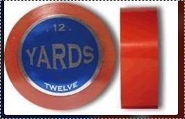 Red Tape Rolls For Wigs