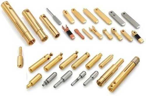 Round Shape Polished Brass Pins, Packaging Type: Box