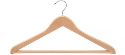 Wooden Polished Clothes Hanger