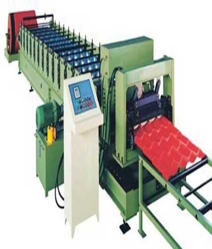 Arc Welding Automatic Tile Sheet Roll Forming Machine