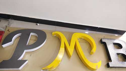 Colored Led Acrylic Letter