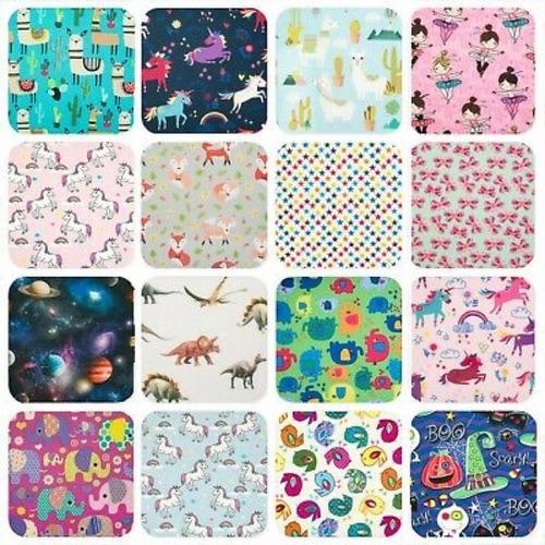Cotton Denim Kids Fabric
