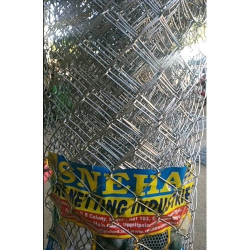 Galvanized Iron Fencing Chain Link Wire Mesh