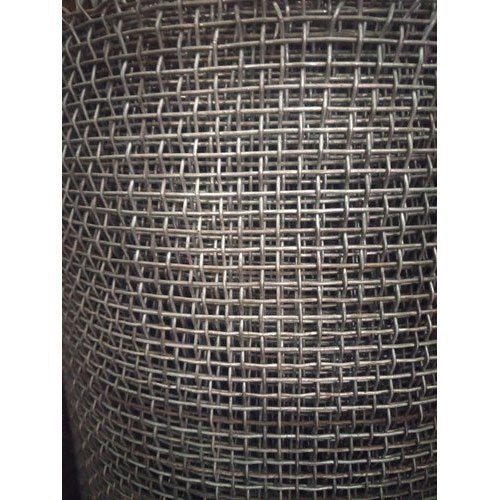 Galvanized Iron Silver Industrial Wire Mesh