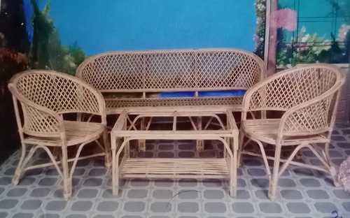 High Strength Designer Cane Sofa Set