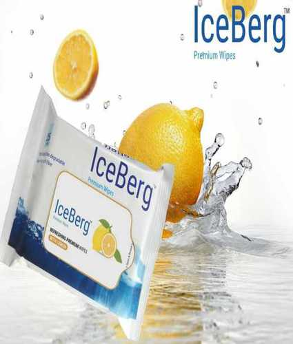 Iceberg Lemon Wet Wipes