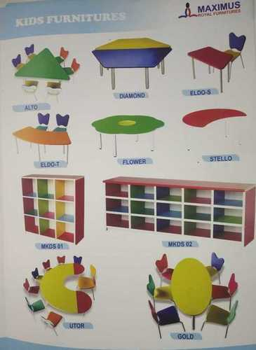 Kids Play School Table, Usage/Application: School