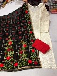 Ladies Phulkari Party Wear Suits