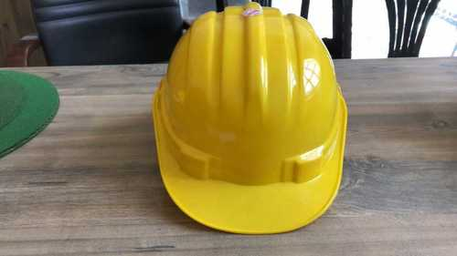 Plastic Safety Yellow Helmet for Construction and Industry Use