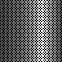 Round Stainless Steel Perforated Sheet