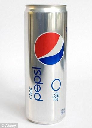 Soft Diet Pepsi Drink