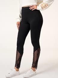 Women Black Color Leggings