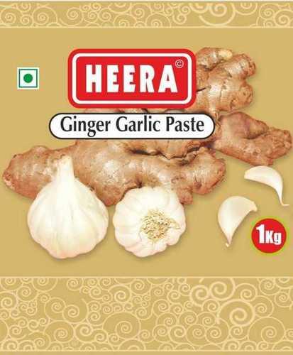 1kg Ginger Garlic Paste, Calcium: 18mg