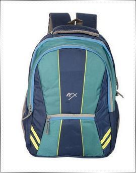 Blue And Green Boys School Bag