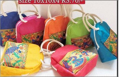 Classy Design Fancy Jute Bag