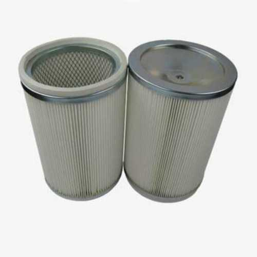 Cylindrical Air Filter, Min Working Pressure: 25 MM WC