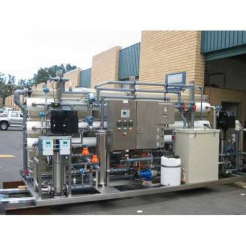 Electric Water Treatment Plant