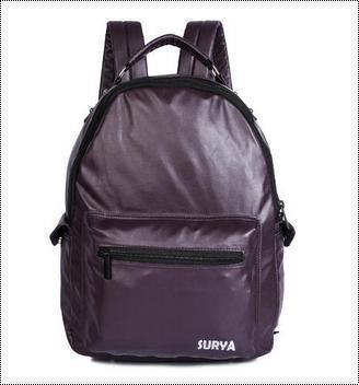 Elegant Finish Leather Backpack