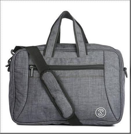 Grey Shoulder Laptop Bags