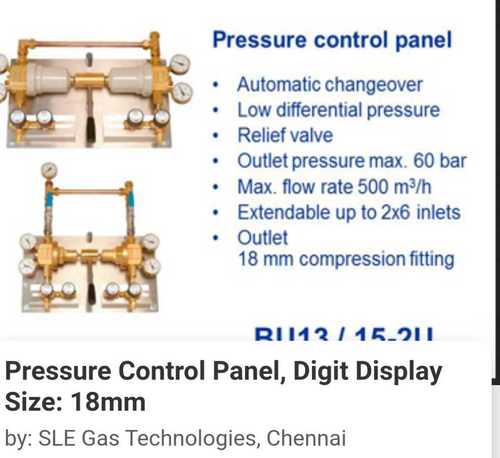 High Strength Pressure Control Panel