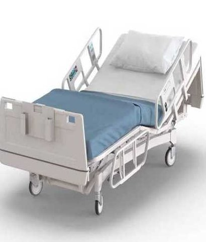 White Hospital Automatic Icu Bed