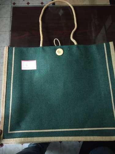 Jute Shopping Bag With Rope Handle