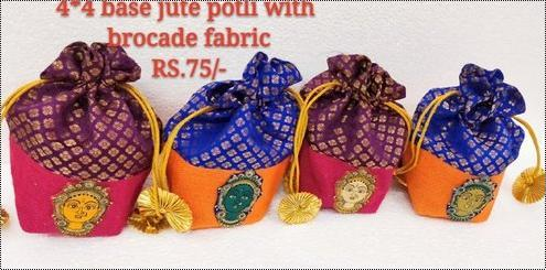 Jute Wedding Polti Bag