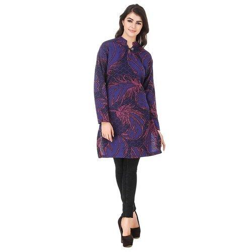 Ladies Casual Wear Woolen Kurtis