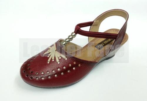 Ladies Fancy Heeled Sandals