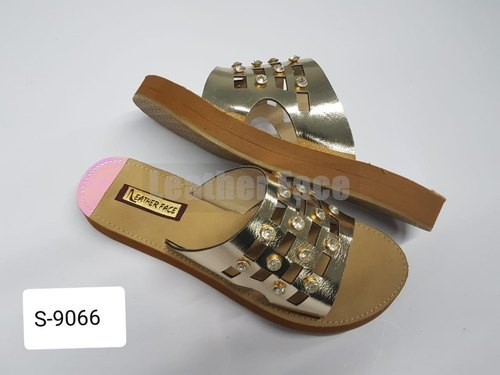 Ladies Party Wear Ethnic Slippers