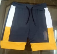 Mens Polyester Elasticated Shorts